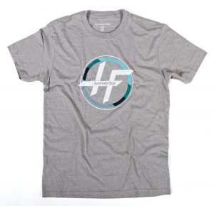 Hyperflex Circle Logo Tee – Gray