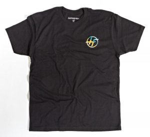 Hyperflex Circle Logo Tee – Black