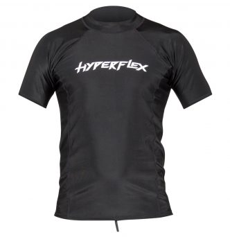 Lycra Short Sleeve Rash Guard