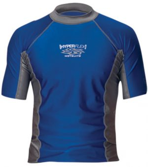 LOOSE FIT MEN'S SHORT SLEEVE RASH GUARD