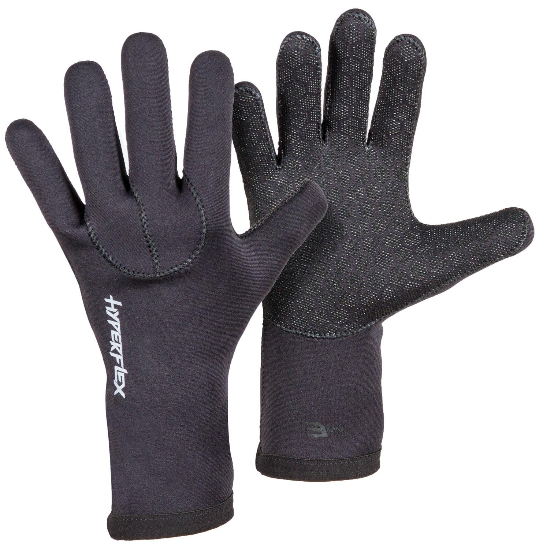 Hyperflex Men and Women/'s 3//4 Finger Gloves