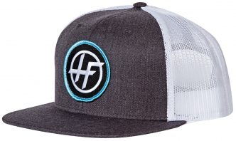 Charcoal Trucker Patch Snapback
