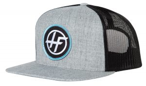 Heather/Black Trucker Patch Snapback