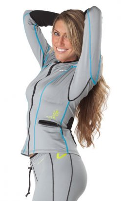 Women's Catch Platinum Poly  Jacket